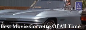 LED Headlights Shine On Best Movie Corvette Of All Time